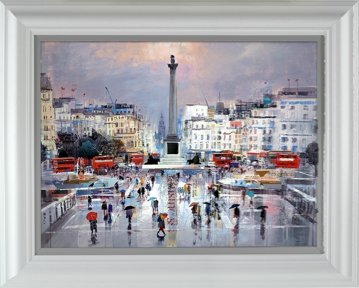 Flair and Square by Tom Butler - Limited Edition on Paper sized 26x19 inches. Available from Whitewall Galleries